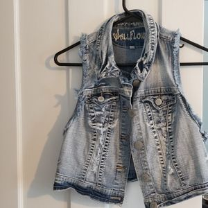 Short jean Jacket